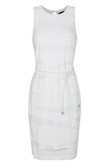 Ana Alcazar Shift Dress White Falea