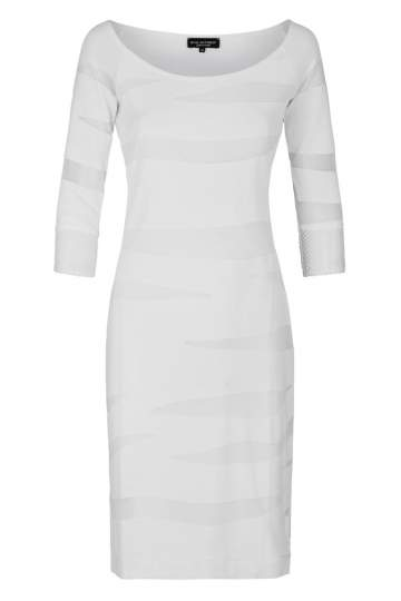 Ana Alcazar Tunic Dress White Falery