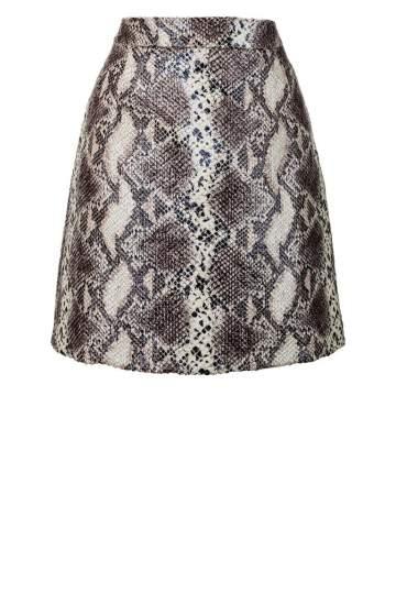 ana alcazar Mini Skirt Zeosara Dark