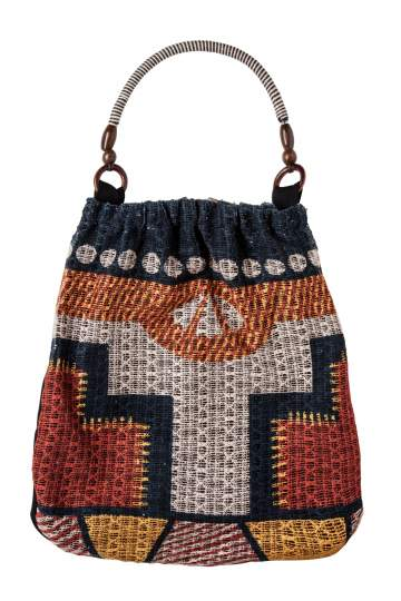 Ana Alcazar Beach Bag Eivissa dark