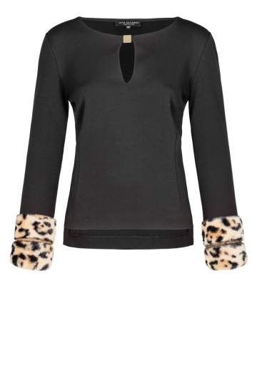 Ana Alcazar Cut-Out Top Doweory