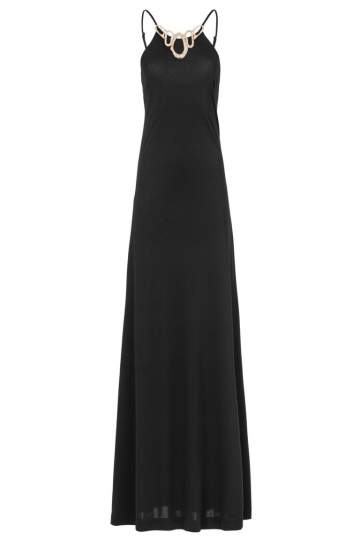 ana alcazar Black Label Maxikleid Black No. 51
