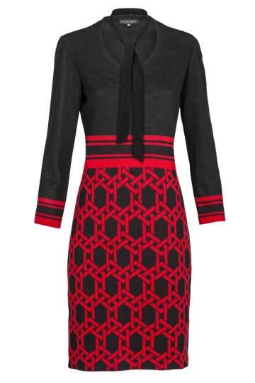 Ana Alcazar Shift Dress Kiley Red