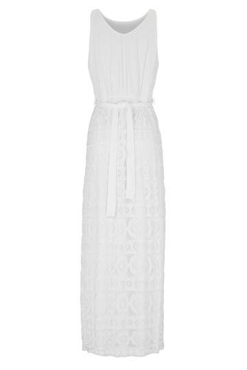 Ana Alcazar Maxi Lace Dress Ginnis