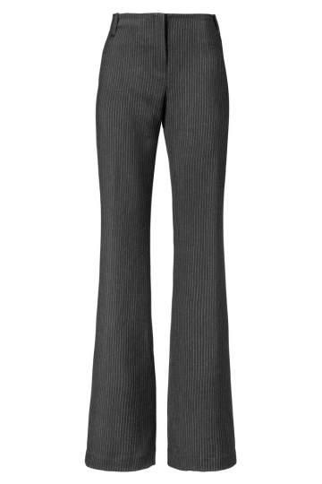 ana alcazar 70´ Trousers Zelony Stripes