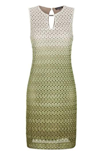 Ana Alcazar A-Shaped Dress Green Famony