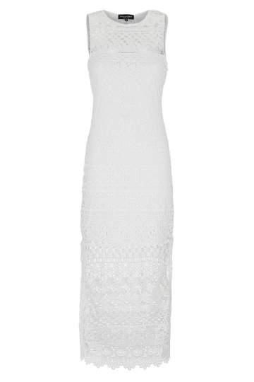 Ana Alcazar Midi Lace Dress Gwynes