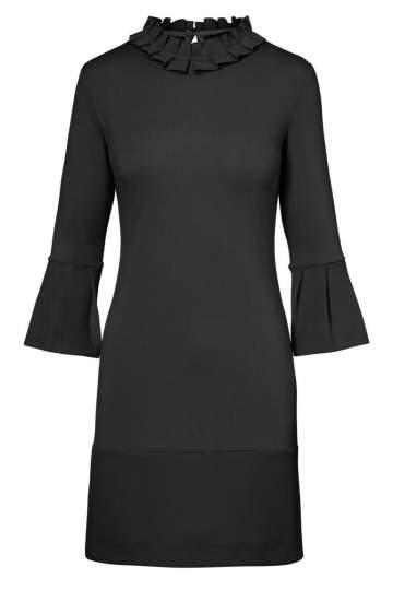 Ana Alcazar Volant Dress Opala Black