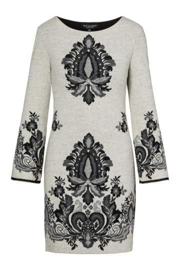 Ana Alcazar Sleeved Dress Perna