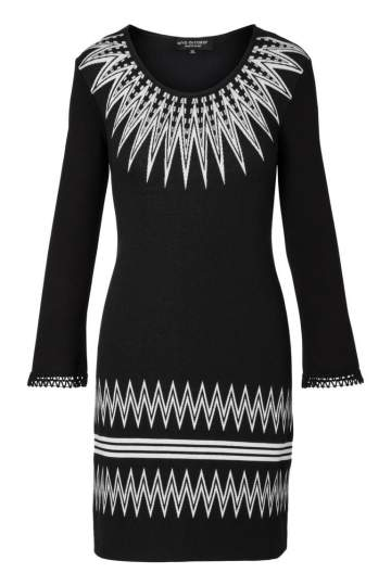 Ana Alcazar Sleeved Dress Pollya