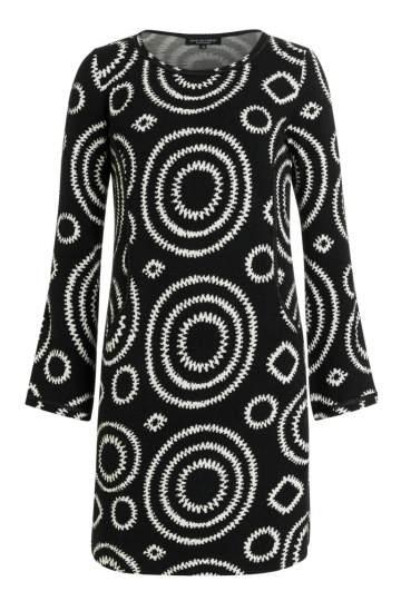 Ana Alcazar Casual Kleid Perlita Black