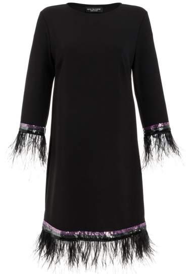 Ana Alcazar Feather Dress Rivya