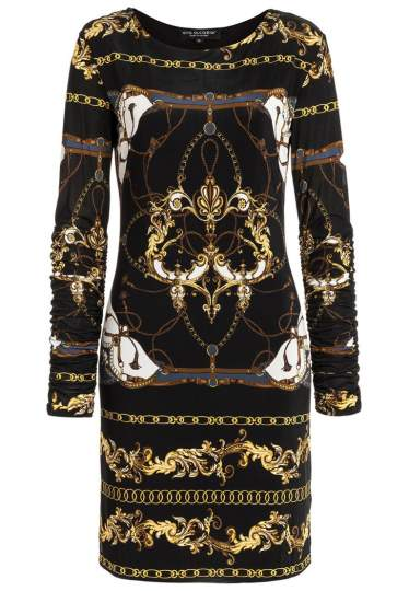 Ana Alcazar Baroque Dress Romilda