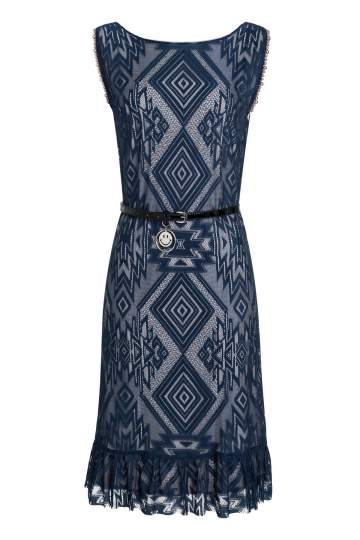 Ana Alcazar Sleeveless Dress Saprona