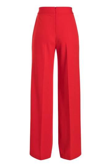 Ana Alcazar Wide Pants Sazore Red