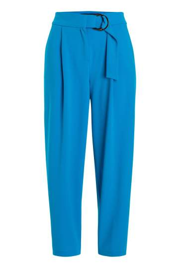 Ana Alcazar Cropped Pants Seadani Blue