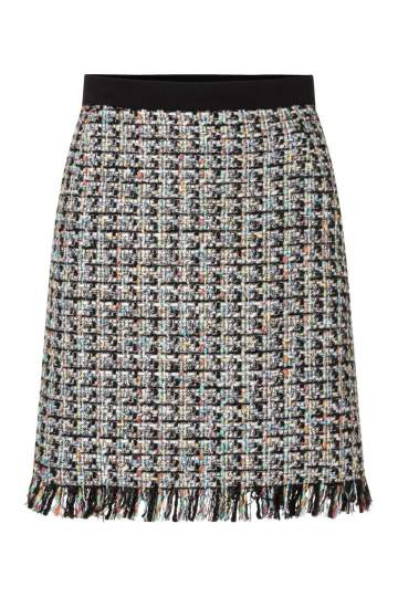 Ana Alcazar Tweed Skirt Orita