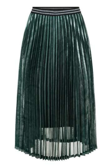 Ana Alcazar Plissee Skirt Orora