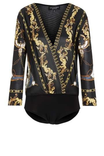Ana Alcazar Baroque Body.Shirt Romyka