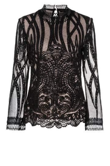 Ana Alcazar Lace Shirt Ranja