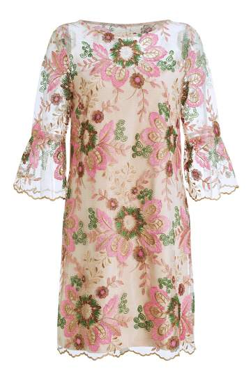 Ana Alcazar Tunic Lace Dress Mareviani