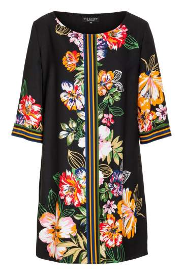 Ana Alcazar Tunic Dress Meanisa Dark