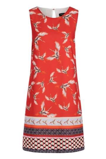 Ana Alcazar A-Linien Kleid Meilea Red