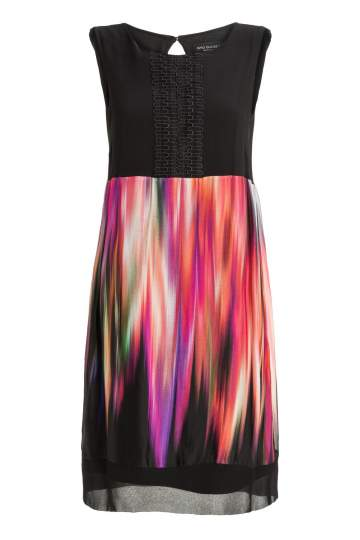 Ana Alcazar Silk Mix Dress Madjes
