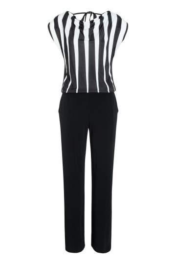 Ana Alcazar Striped Jumpsuit Mariseri