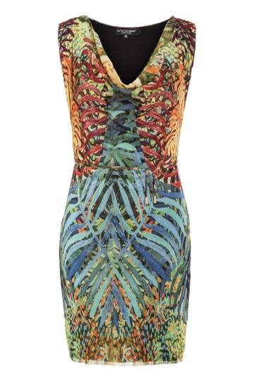 Ana Alcazar Print Dress Moleary