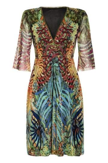 Ana Alcazar Short Sleeves Dress Moldearys