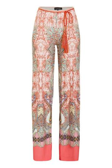 Ana Alcazar Paisley Trousers Medynea