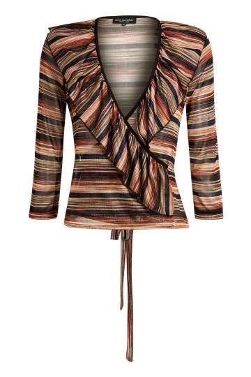 Ana Alcazar Wrap Top Maryowe