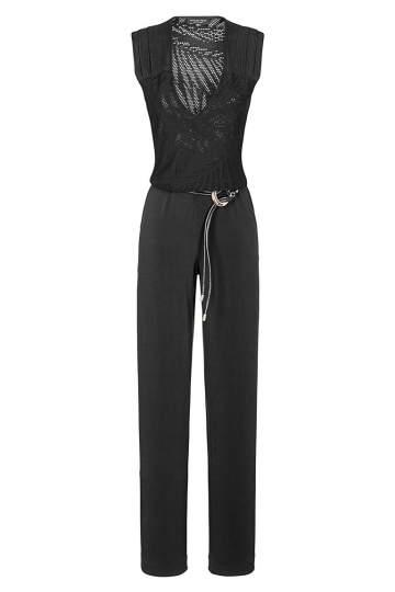 Ana Alcazar Jumpsuit Black Faretola