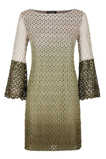 Ana Alcazar Tunic Dress Green Famy