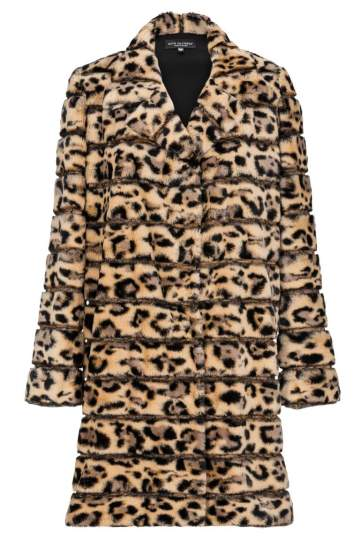 Ana Alcazar Fake Fur Coat Doleo