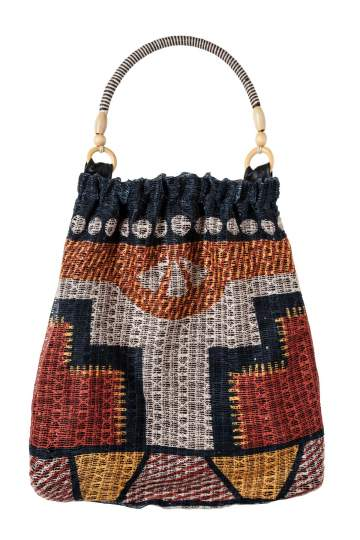 Ana Alcazar Beach Bag Eivissa light