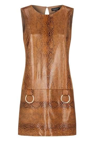 Ana Alcazar A-Linien Kleid Korana Brown