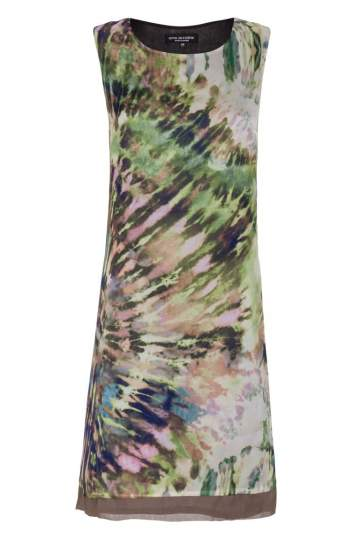 Ana Alcazar A-Shaped Silk Dress Fayrena