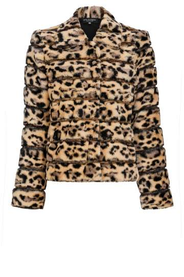 Ana Alcazar Fake Fur Jacket Doleora