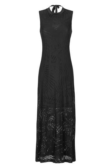 Ana Alcazar Maxi Dress Black Faretis