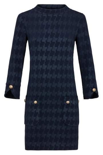 Ana Alcazar A-Shaped Dress Kyrstin Blue