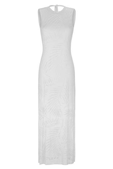Ana Alcazar Maxi Dress White Faretis