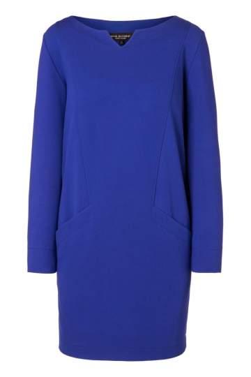 Ana Alcazar Pocket Dress Ozorea Blue