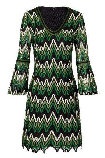 Ana Alcazar Mini Dress Photea Green