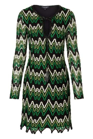 Ana Alcazar Tunic Dress Photany Green