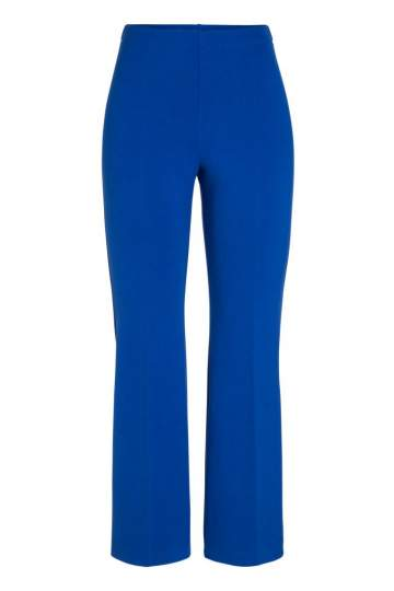 Ana Alcazar Cropped Pants Onilde Blue