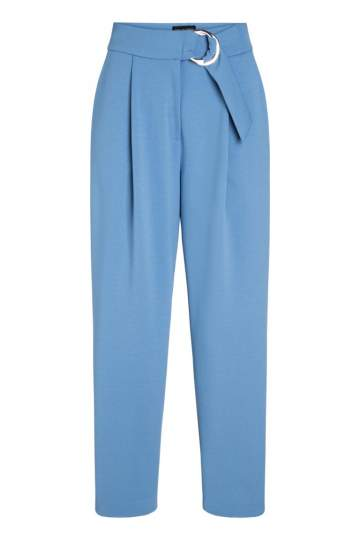 Ana Alcazar Cropped Pants Pyra Blue