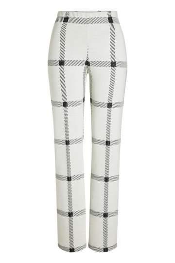 Ana Alcazar Trousers Pavany White