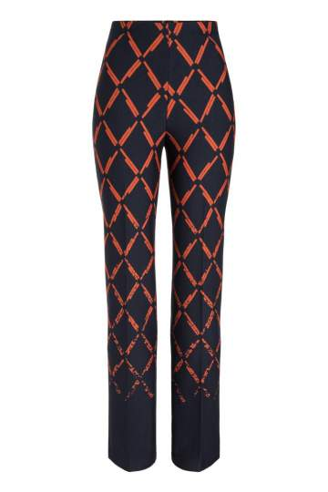 Ana Alcazar Trousers Payela Blue-Orange